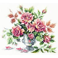 Набор для вышивания крестом Чудесная игла 40-71 Розовая нежность