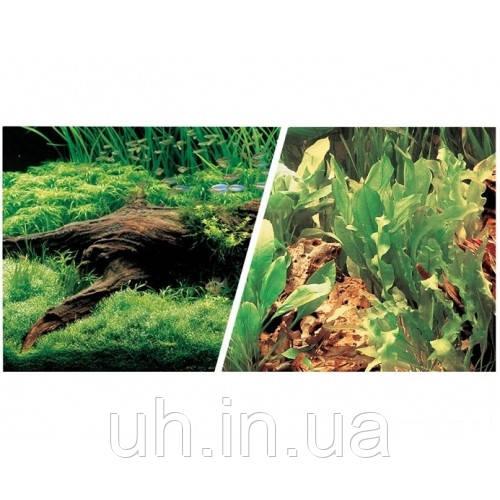 Фон двусторонний Hagen коряга с растениями 45см *7,5м