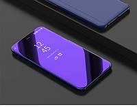 Чехол Mirror для Huawei P Smart Plus / Nova 3i / INE-LX1 книжка зеркальная Purple