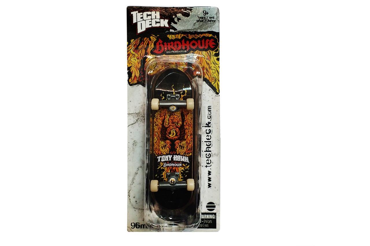 Набор фингерборд + отвертка Tech Deck Birdhouse Tony Hawk Fire