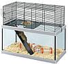 Стеклянная клетка для крыс и мышей Ferplast GABRY (в двух размерах)