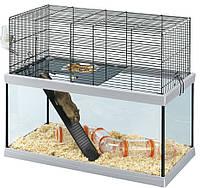Стеклянная клетка для крыс и мышей Ferplast GABRY (в двух размерах), фото 1
