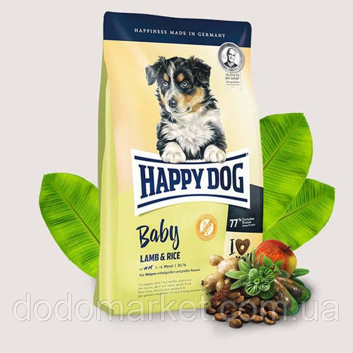 Сухой корм для щенков Happy Dog Supreme Baby Ягненок и Рис 1 кг