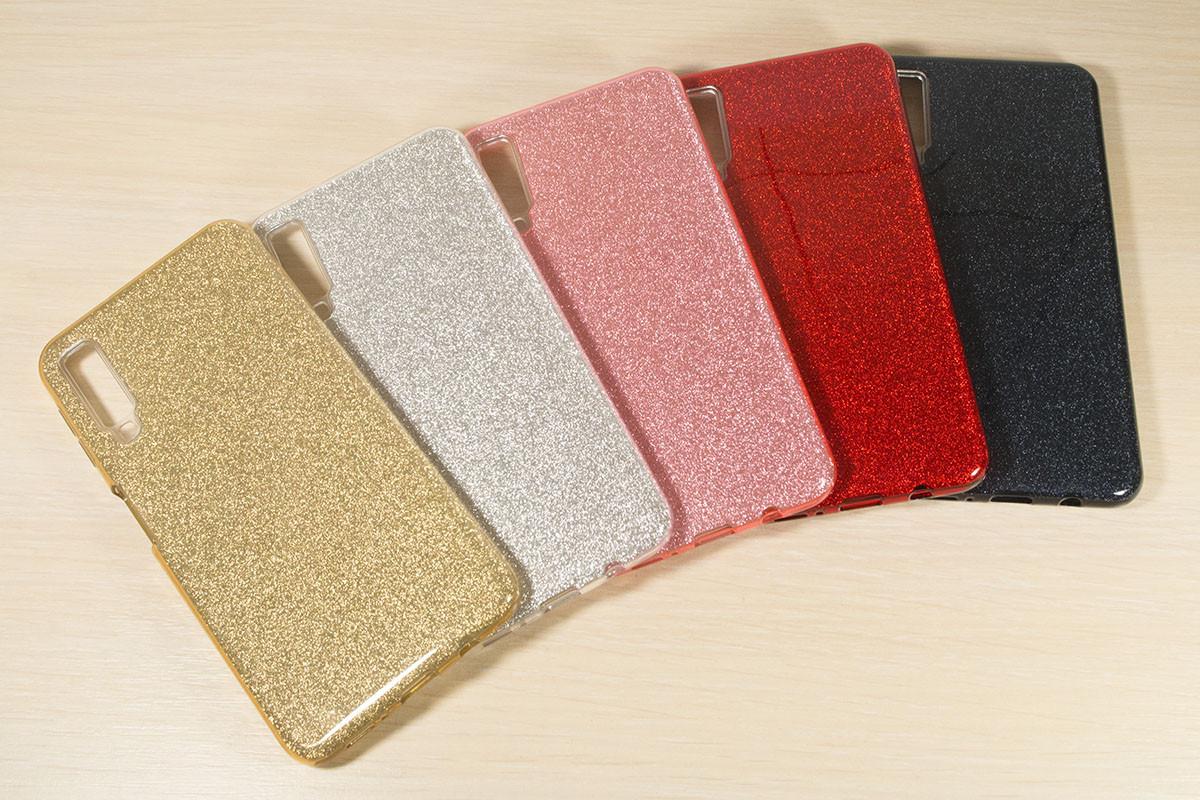 Переливающийся TPU чехол для Samsung Galaxy A7 2018 A750 (5 Цветов)