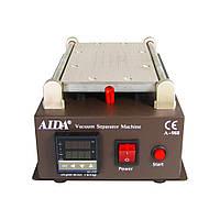 """Сепаратор 8.5"""" (19 х 11 см) AIDA A-988 со встроенным компрессором для вакуумного способа фиксаци...(ID:9219)"""