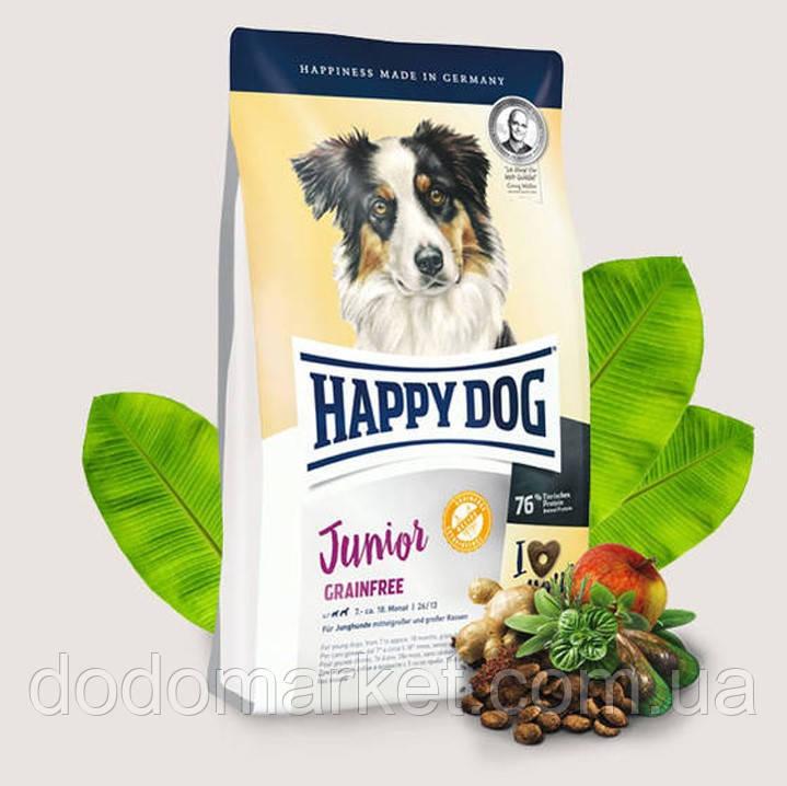 Сухий корм для цуценят Happy Dog Supreme Junior Grainfree 10 кг
