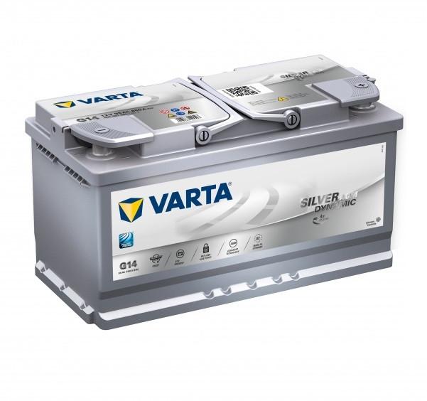 Акумулятор VARTA 95Ач Start Stop plus AGM G14 (0)