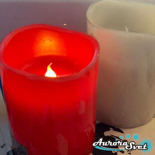 Светодиодная свеча. Оригинальные подарки. Световой декор. Производство Франция.