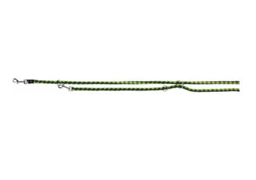 """Перестежка """"Cavo"""" нейлон S–M: 2м/12 мм оливковый/ярко-зеленый"""