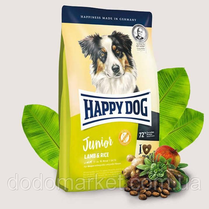 Сухий корм для цуценят Happy Dog Supreme Junior Ягня і Рис 4 кг