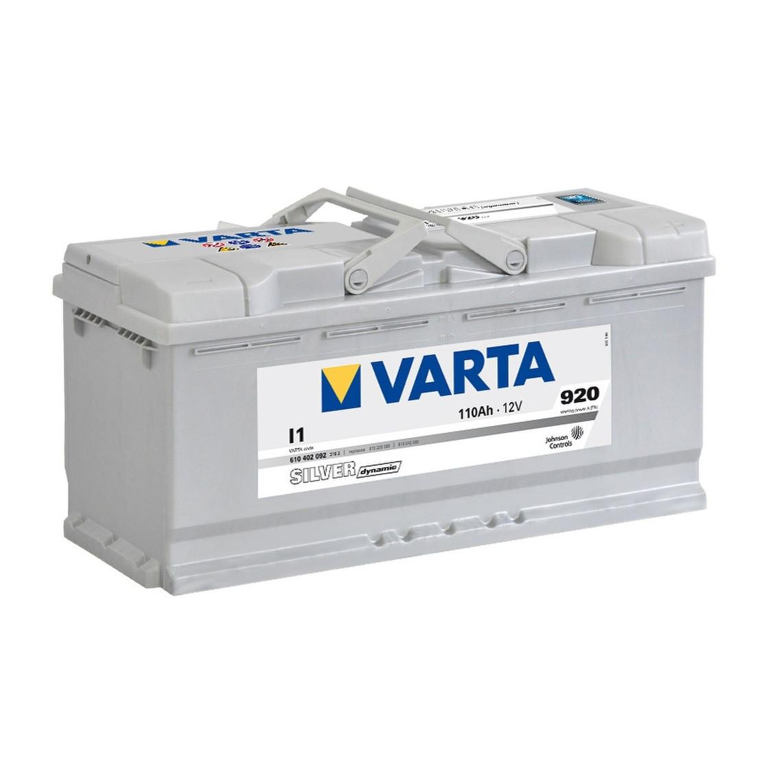 Акумулятор VARTA 110Ач Silver Dynamic I1 (610402092)