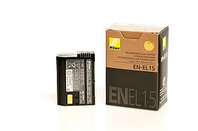 Аккумулятор Nikon EN-EL15 (D7000, D7100, D7200, D500, D600, D610, D750, D800, D800E, D810, D810A)