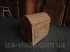 Скриня №4 плетений з лози
