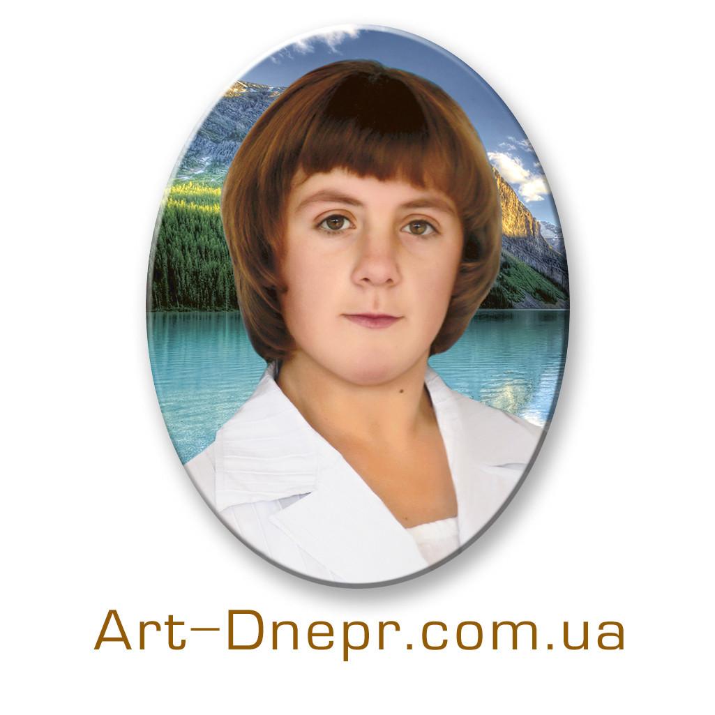 Керамогранит цветной портрет