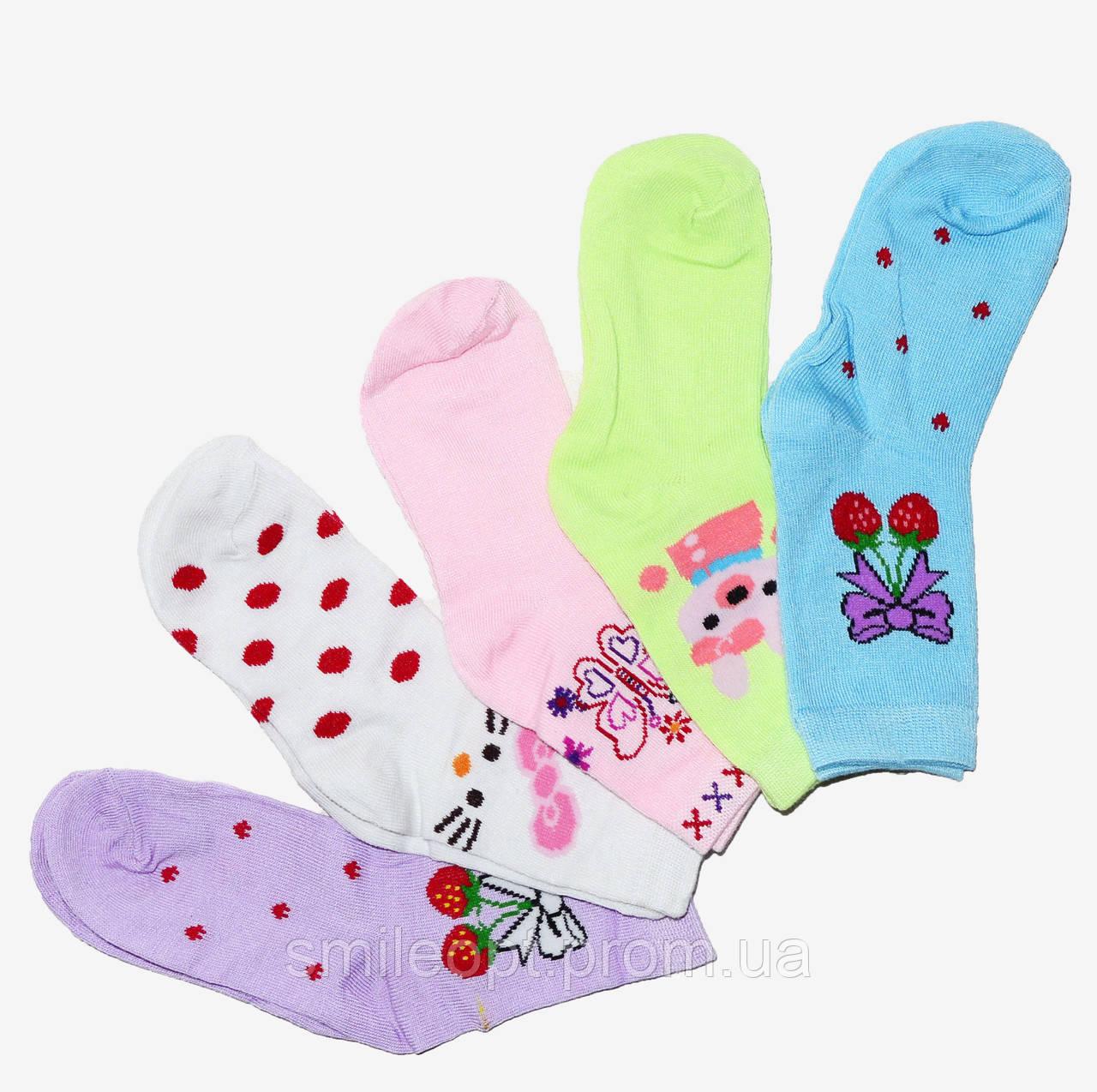 0847219c996e4 Детские носочки на девочку с красивыми узорами (ND3102): продажа ...