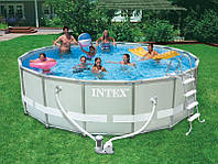 Каркасный бассейн Intex 28322 (54922) Ultra Frame Pool Set