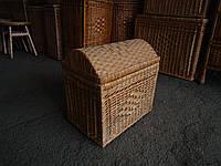 Сундук №3 плетеный из лозы