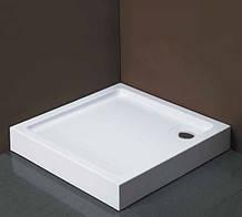 Душевой поддон Dusel D102 квадратный, 100х100х13,5 см
