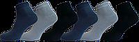 """Чоловічі шкарпетки бамбук короткий мікс """"lomani"""""""
