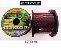 Леска карповая Pelzer Executive Carp, 1200m 0,28 braun