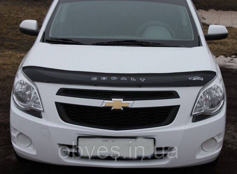 Дефлектор капота (мухобойка) Chevrolet Cobalt c 2011