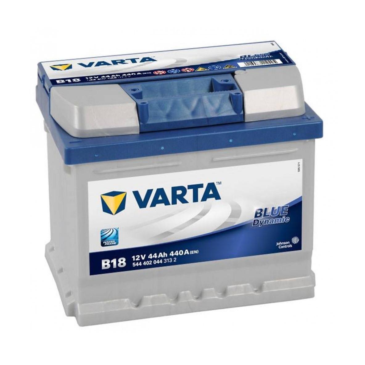 Акумулятор VARTA 44Ач Blue Dynamic B18 (544402044)