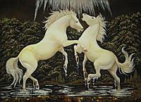 Картина из янтаря. Панно 32