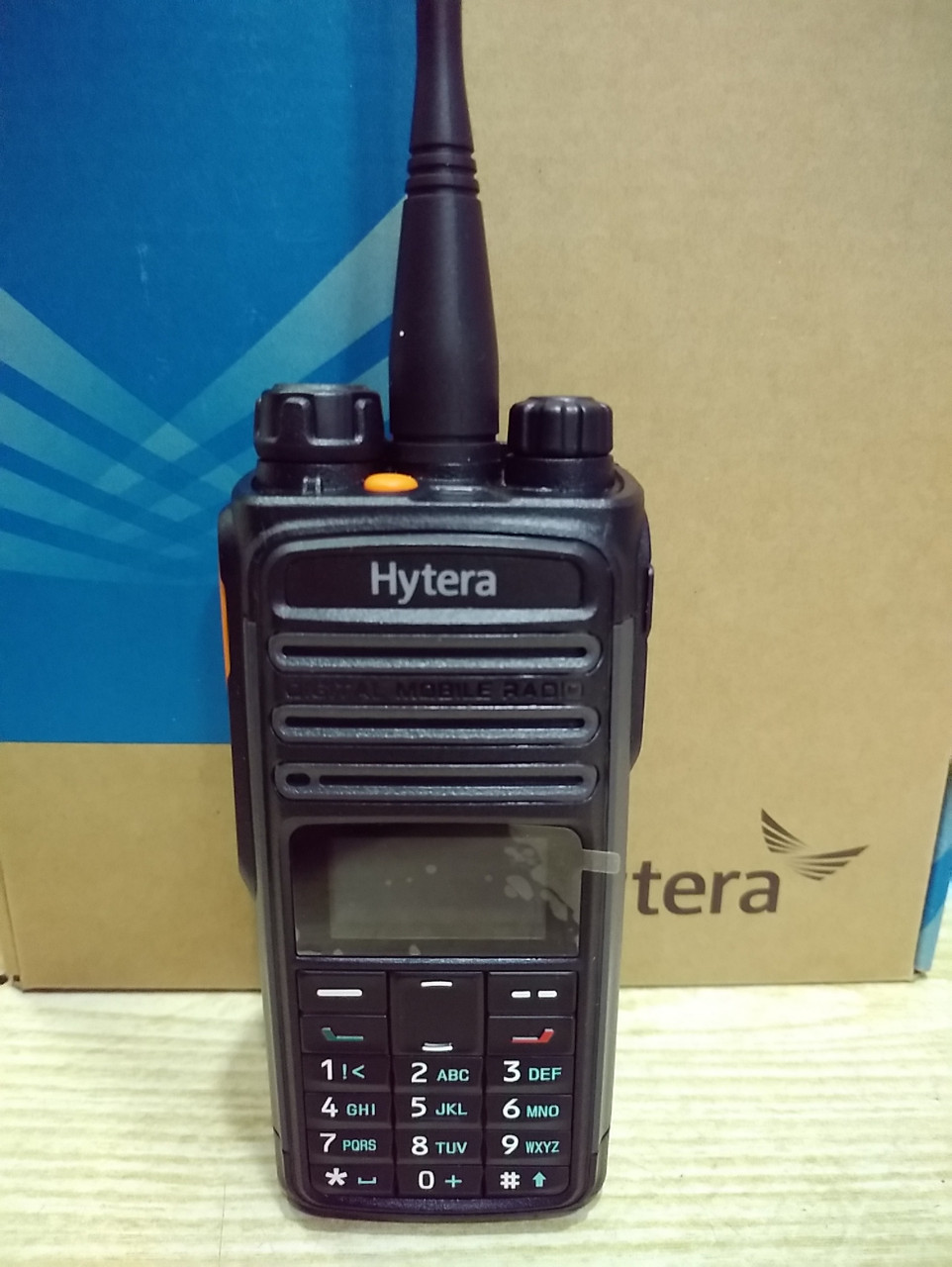 Hytera PD485, аналогово-цифровая DMR радиостанция