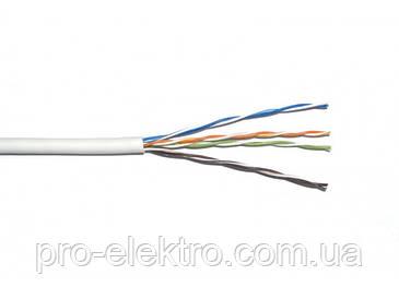 Кабель витая пара ДКЗ UTP 4x2x0,50 - 4-х парный кабель, категории 5Е. (внутренний)