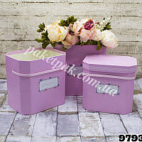 Подарочная коробка (уп-3 шт)