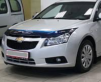 Дефлектор капота (мухобойка) Chevrolet Cruze с 2009 г.в., фото 1