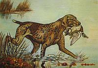 Картина из янтаря. Панно 34