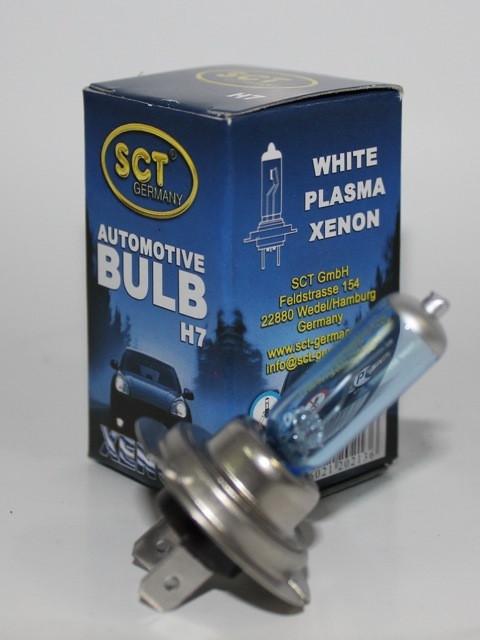 Лампа автомобильная Н7 12V55W SCT