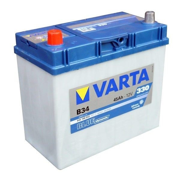 Акумулятор VARTA 45Ач Blue Dynamic АЗИЯ B34 (1)