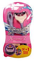 Wilkinson Xtreme-3 женские одноразовые станки (4шт)