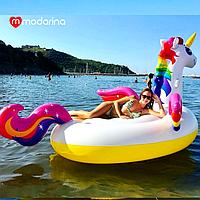 Modarina Матрас Радужный Единорог с разноцветными крыльями 284 см