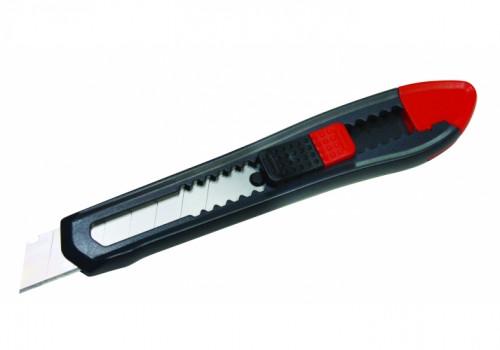Нож канцелярский 18 мм Optima, пласт. корпус