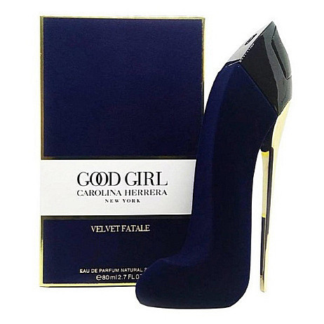 Женская парфюмированная вода Carolina Herrera Good Girl Velvet Fatale Bleu