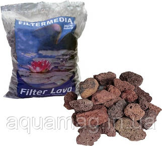 Наполнитель Filtermedia Lava 16-32 мм, 10л (биозагрузка) для биофильтра, УЗВ, пруда, водоема