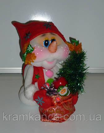 """Сувенірна лялька """"Сніговик"""", фото 2"""