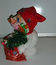 """Сувенірна лялька """"Сніговик"""", фото 3"""