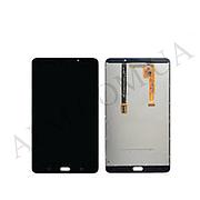 "Дисплей для Samsung T285 Galaxy Tab A 7.0"" (2016) + touchscreen, черный, Metallic Black, версия Wi-Fi, оригина"