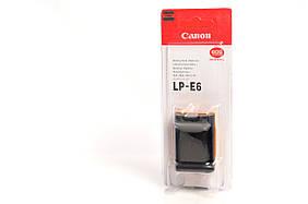 Аккумулятор Canon LP-E6 (60D, 60Da, 70D, 80D, 6D, 7D, 7D Mark II, 5D Mark II, 5D Mark III, 5DS, 5DS R)