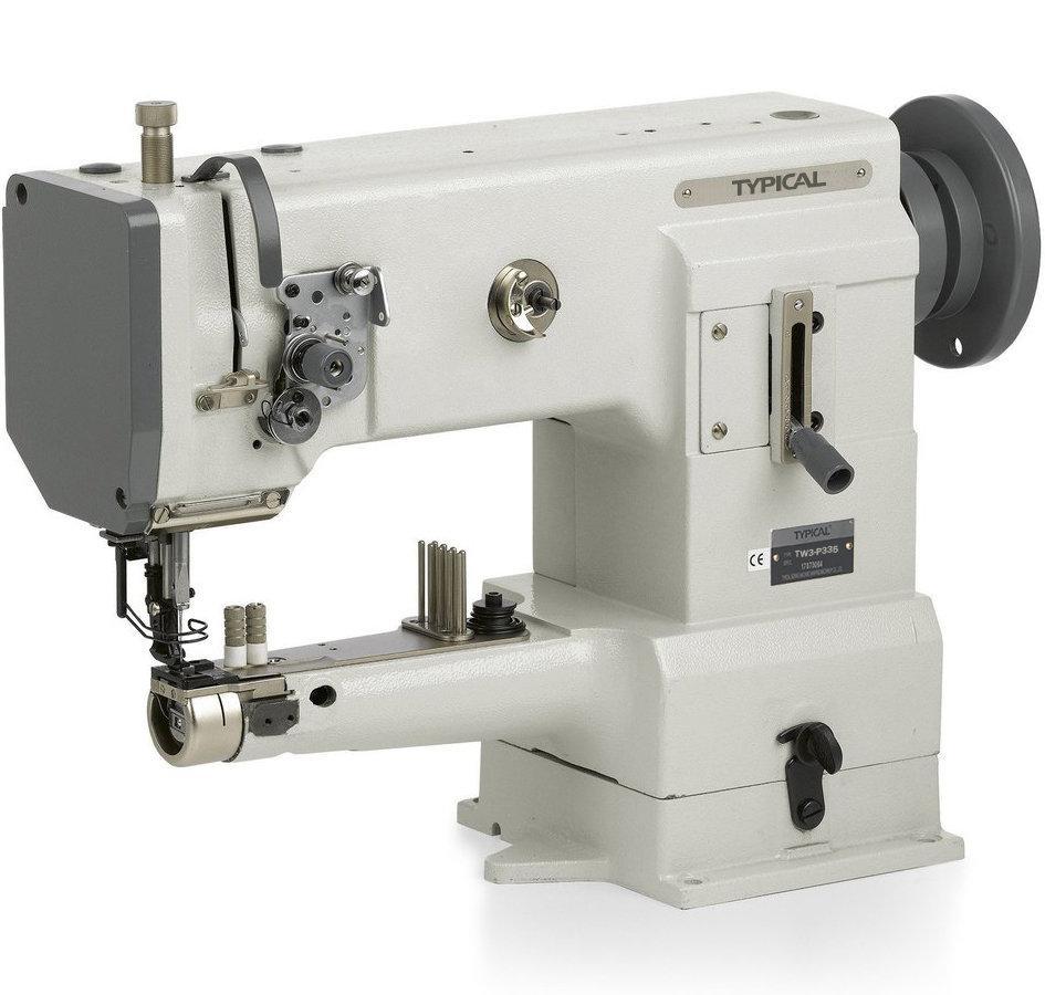 Typical TW3-P335, рукавная промышленная швейная машина с тройным транспортом материала