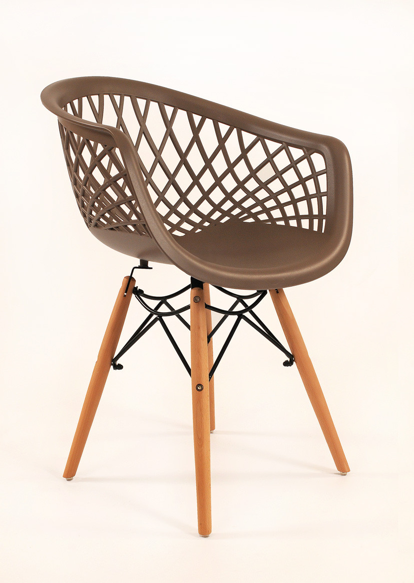 Кресло Viko, серо-кофейный