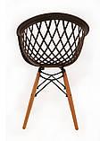 Кресло Viko, серо-кофейный, фото 2