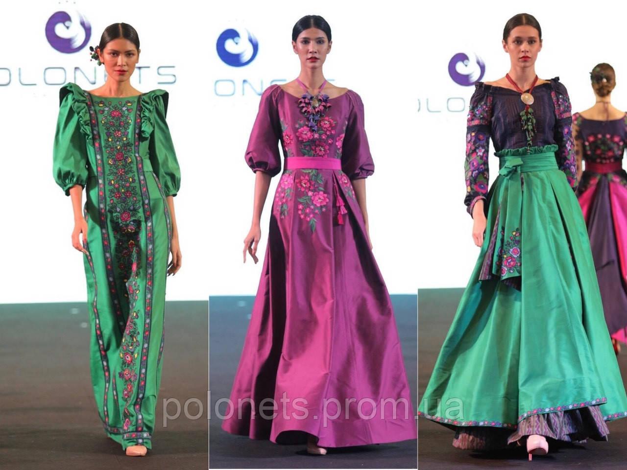 """На """"Thai Silk International Fashion Week 2018"""" було представлено колекцію дизайнера Оксана Полонець"""