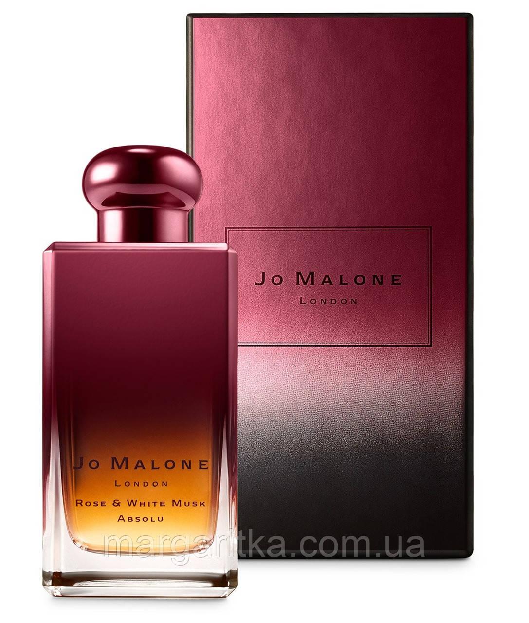 Парфюмированная вода Jo Malone Rose&White Musk Absolu (качество оригинал)