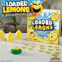 Детская настольная игра для компании Loaded lemons Мокрые лимоны