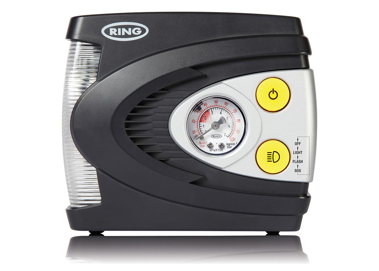 Компрессор RING RAC620 поршневой c LED фонарем